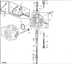 Pompa Hidraulica Tractor John Deere 40 Cm%c2%b3