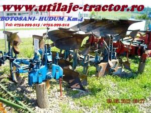 utlaje tractor pluguri